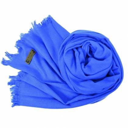 Etole en cachemire  NZO SBARBERI  bleu roi