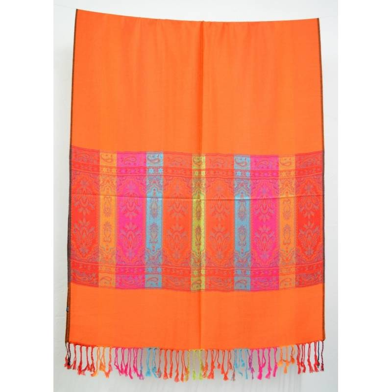 Pashmina indien orange