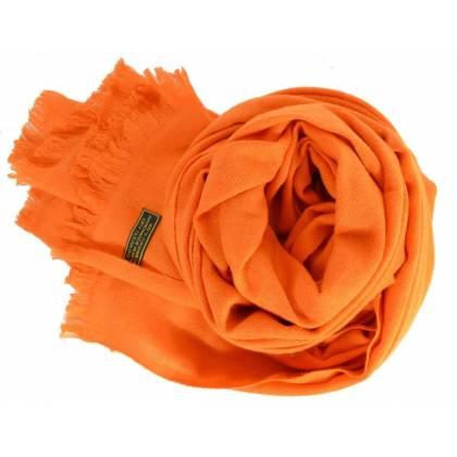 Etole en cachemire  NZO SBARBERI orange
