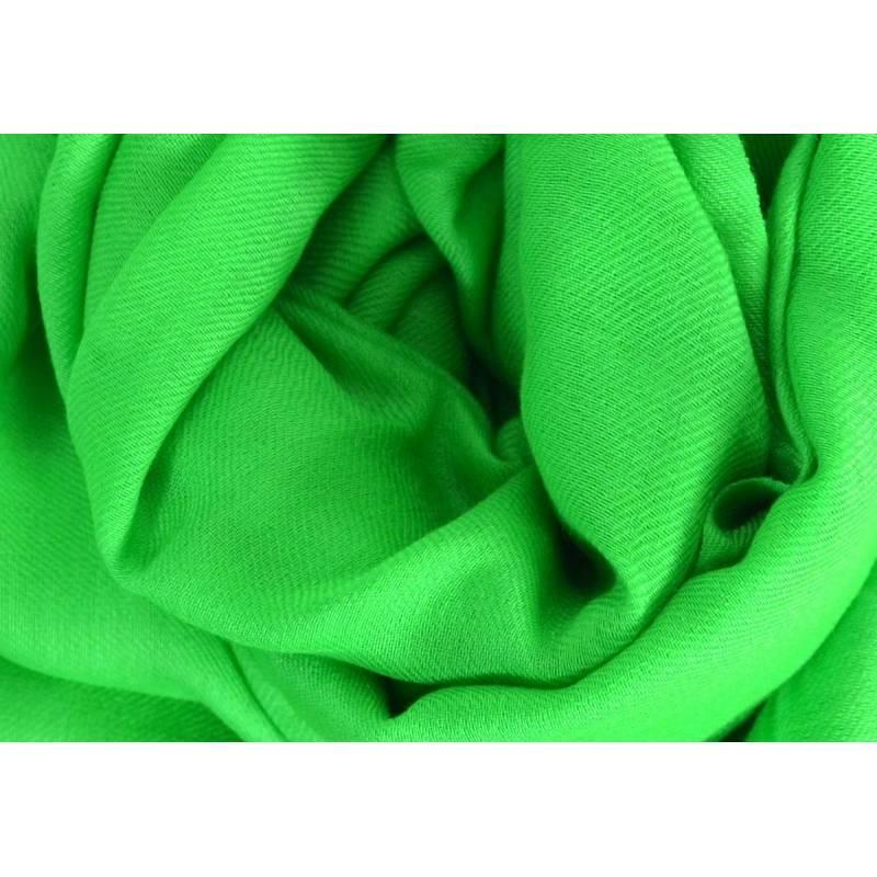 Vrai pashmina en cachemire vert