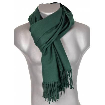 Pashmina cachemire-laine vert